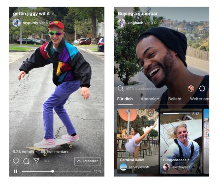 Instagram startet IGTV