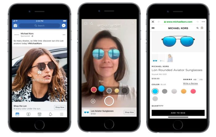 Neues Facebook Ad Format: Augmented Reality Ads