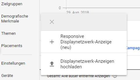 Neue Responsive Displaynetzwerk-Anzeige in Google Ads