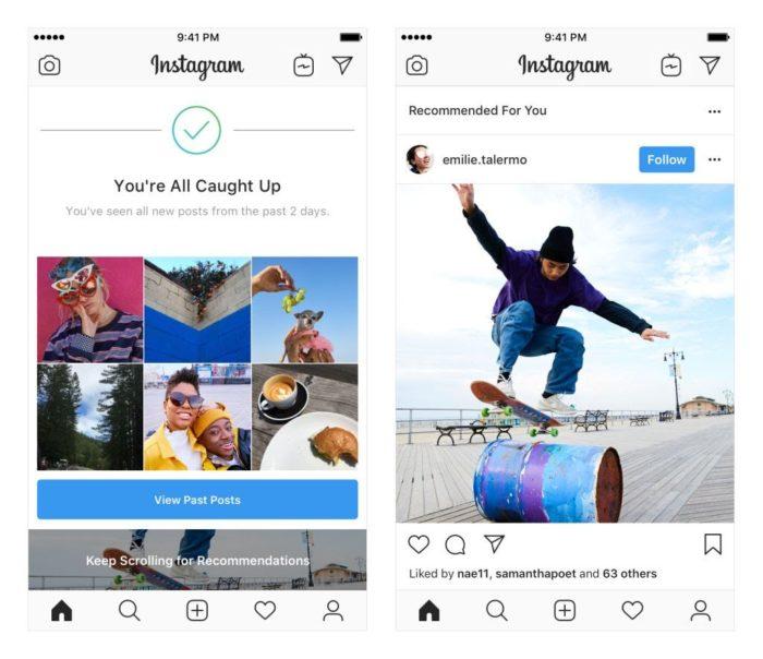 Social Media News Empfehlungen direkt im Instagram Feed