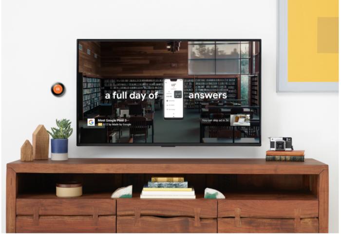 Video Anzeigen fuer TV-Bildschirme