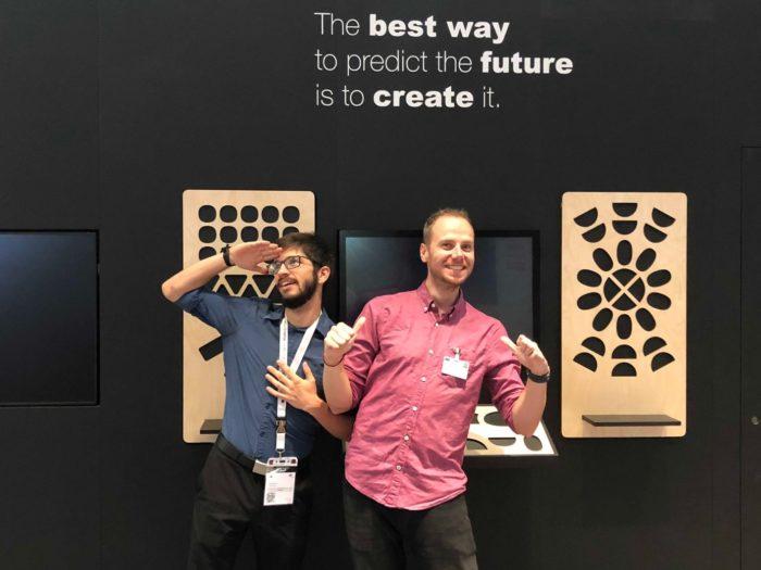 Mit Kollege Micha auf der EXPO REAL: An uns sind definitiv zwei Business-Gurus verloren gegangen. :)