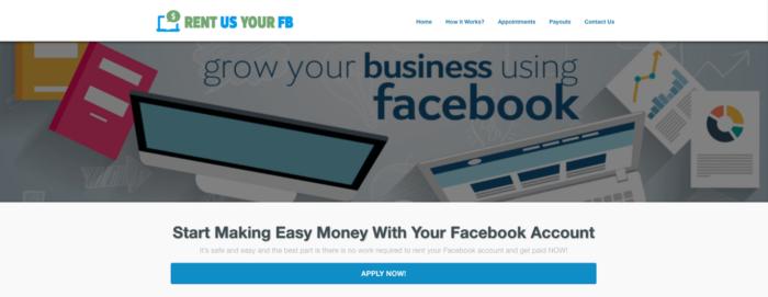 Accounts an Advertiser vermieten