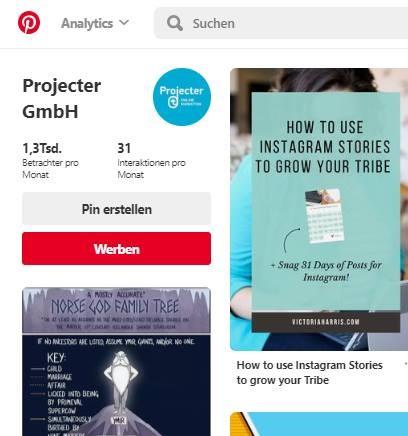 Pinterest Ads jetzt auch in Deutschland