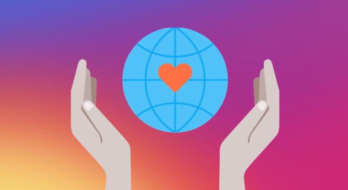 zu sehen ist ein Beispielbild zum Thema Instagram Fundraisers