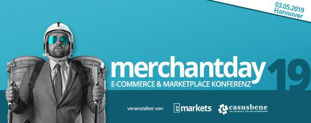 zu sehen ist das Banner des merchantday 2019