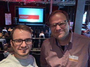 Markus und Robert bei der OMfinCon2019