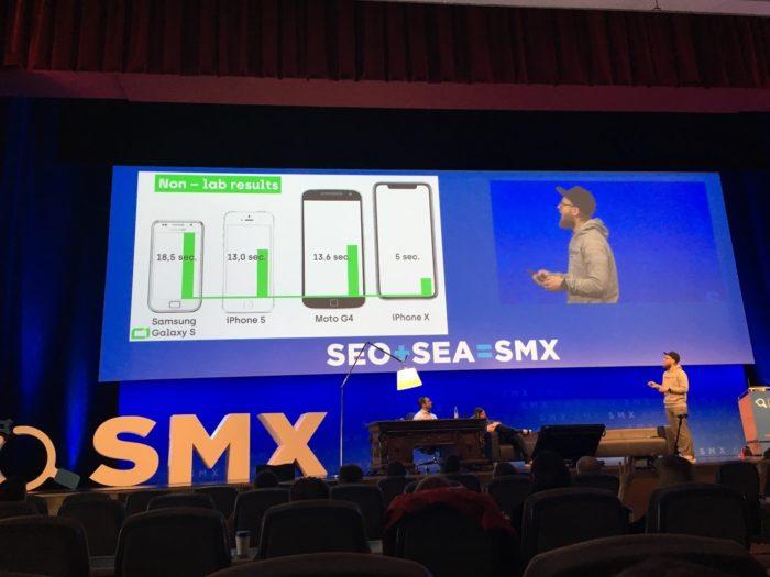 Zu sehen ist eine Präsentation der SMX