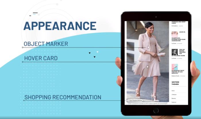 Zu sehen ist ein Beispiel der Anwendung der neuen Technologie, bei der ein Bild automatisch erkannt und klassifiziert wird.
