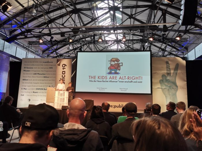 re:publica 2019 Vortrag Stegemann Musyal