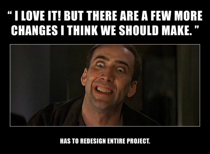 Redesign SEO meme