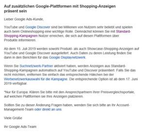 Showcase Ads Google