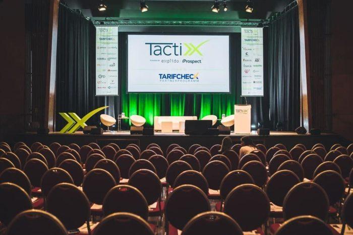 Zu sehen ist die Mainstage der TactixX 2018