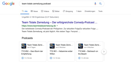 podcast google seo