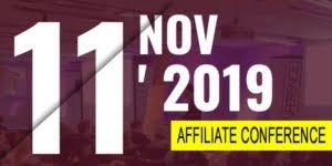 Zu sehen ist das Werbebanner der Affiliate Conference 2019