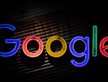Google Leuchtreklame