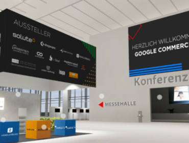 Virtuelle Lobby Google Commerce Camp 2020