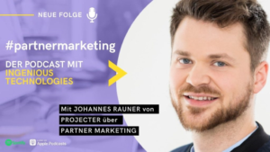 Johannes zu Gast im partnermarketing Podcast