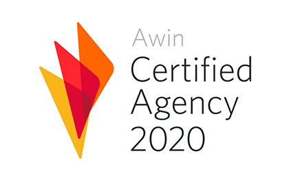 Projecter ist Awin Certified Agency 2020