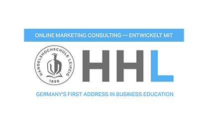 Online Marketing Consulting entwickelt in Zusammenarbeit mit der HHL