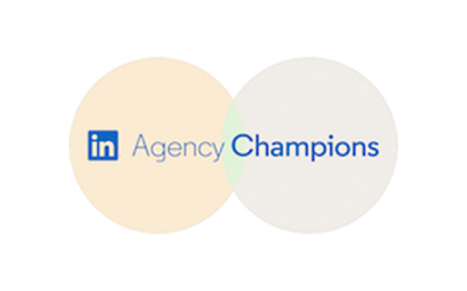 Projecter ist LinkedIn Agency Champion