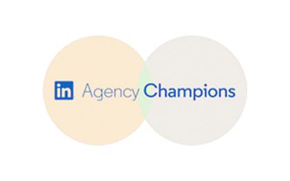 Projecter ist LinkedIn Agency Champion