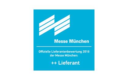 Projecter ist ++Lieferant der Messe München