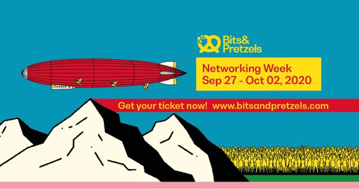 Banner 2 der Bits & Pretzels Networking Week