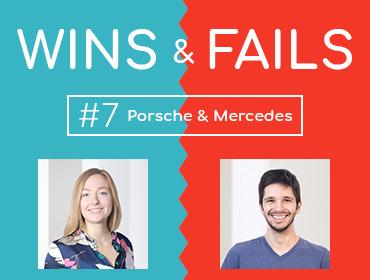 Wins&Fails Episode 7 | Porsche Mercedes