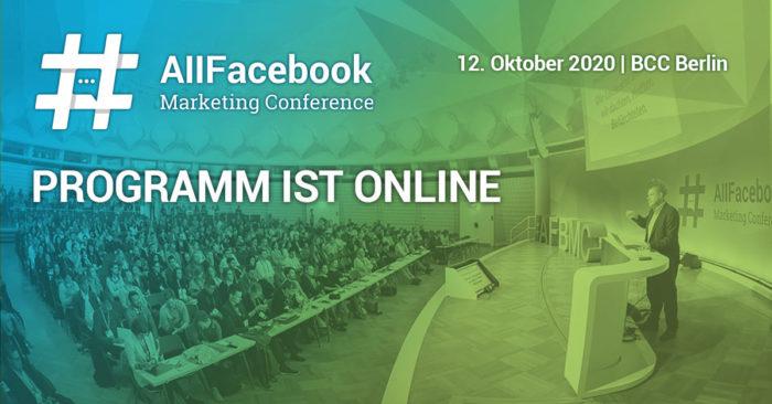 Bild All Facebook Marketing Conference (AFBMC Berlin) Programm