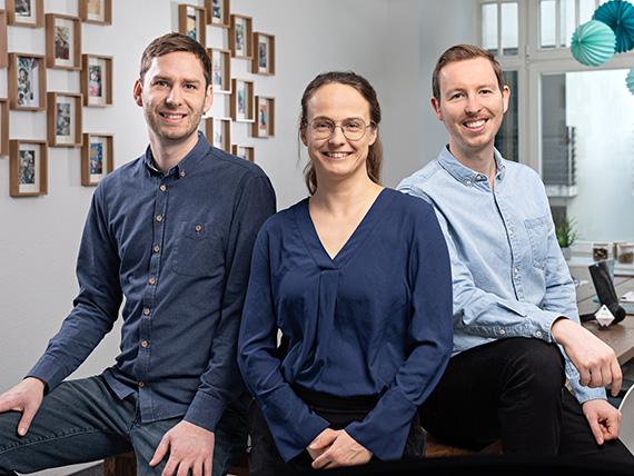 Katja von der Burg, Ralf Kollosche und Steffen Jecke