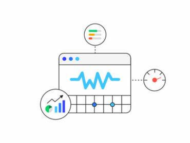 Grafische Darstellung der Core Web Vitals von Google