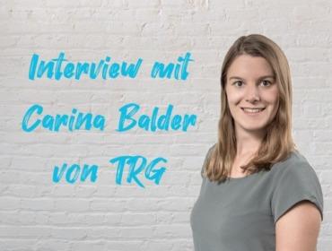 Beitragsbild Interview mit Carina Balder von TRG