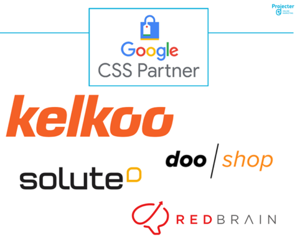 Bild mit den Google CSS Partnern