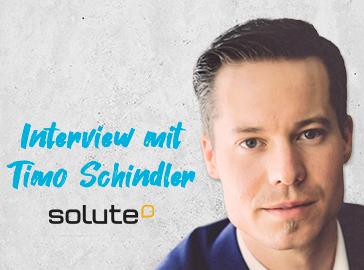 Titelbild Interview mit Timo Schindler von Solute