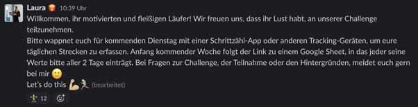 Screenshot Projecter Schrittzähl-Challenge 2