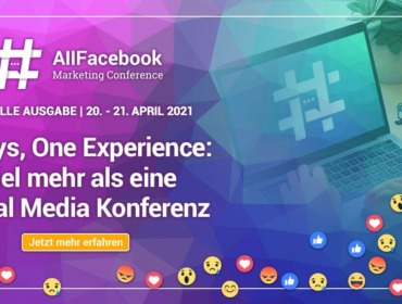 AFBMC 2021 Banner - All Things Social mit 15 % Rabatt