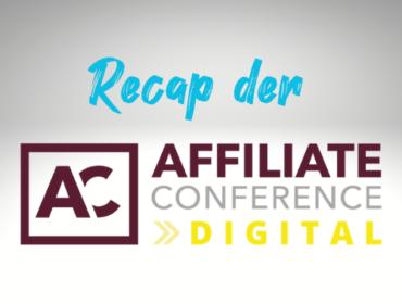 Titelbild Blogbeitrag Recap der Affiliate Marketing Conference Digital 2021