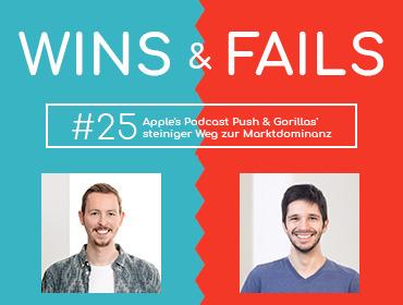 Wins & Fails 25 Projecter Podcast