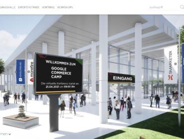 Titelbild Recap Google Commerce Camp 2021