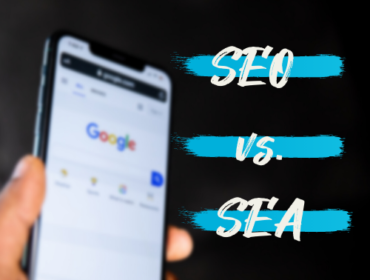 Titelbild SEO vs. SEA