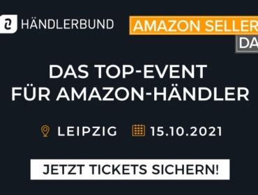Grafik für den Amazon SellerDay 2021 in Leipzig