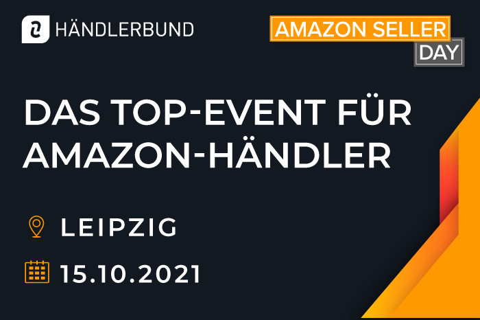 Grafik des Amazon SellerDays 2021, am 15.10.2021 in Leipzig