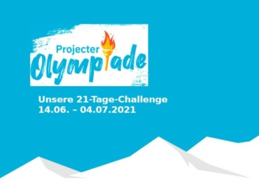 Titelbild für den Blogbeitrag zur Projecter-Olympiade – das etwas andere Teamevent