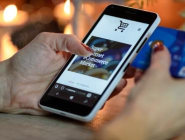 Titelbild Mobile Shopping